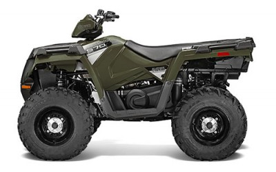 One person atv polaris sportsman 570 colorado adventure for Yamaha suzuki of texas