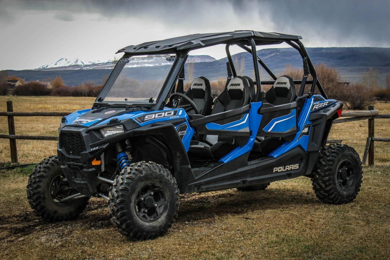 Polaris Com Atv >> Four Person: Polaris RZR 4 900 EPS - Colorado Adventure Rentals
